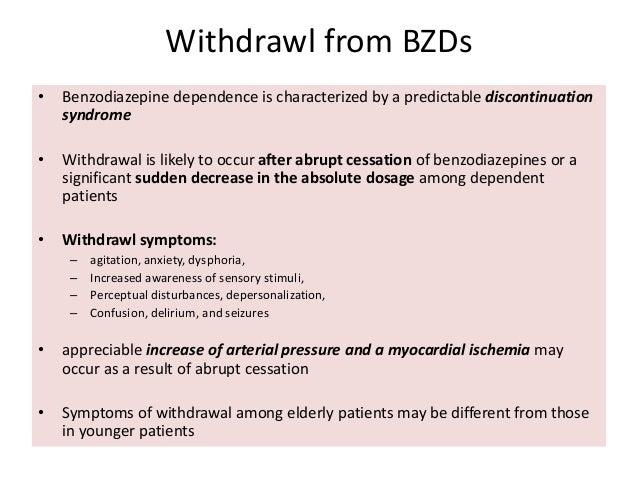 Benzodiazepines in elderly