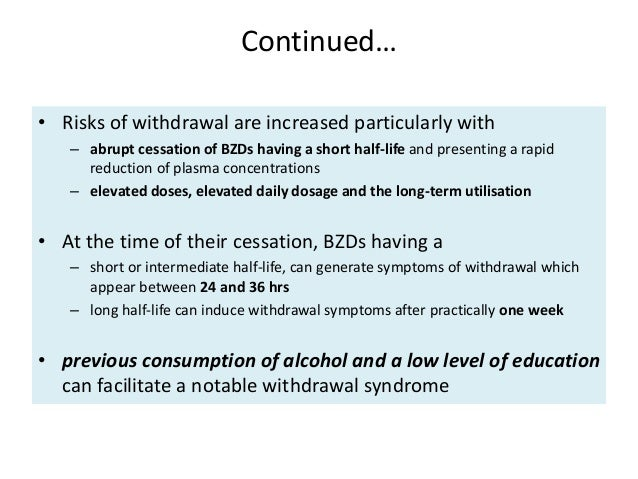 Benzodiazepine long term use and its cognitive