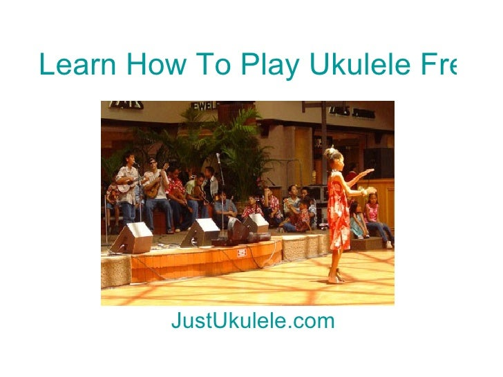 learn how to play ukulele online free