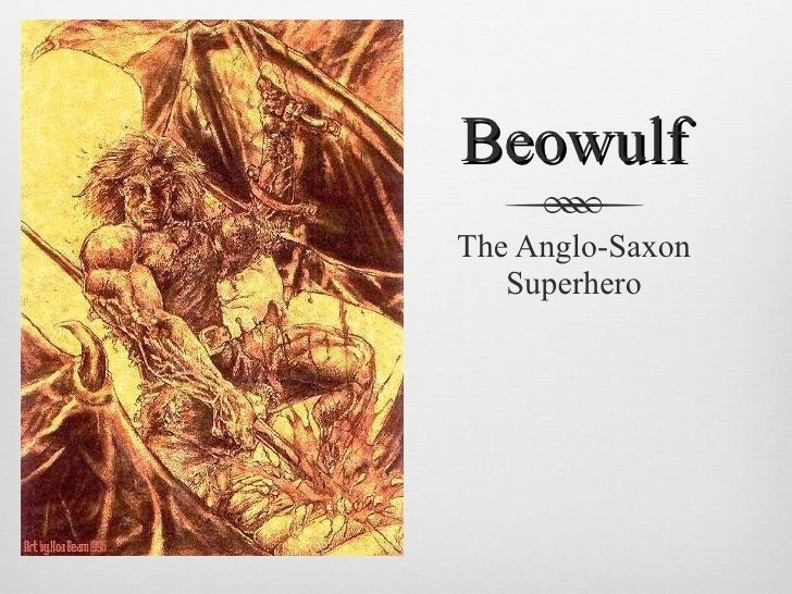 an analysis of the anglo saxon folk beowulf Start studying english anglo-saxon characteristics beowulf (anglo-saxon) gilgamesh (sumerian) mahabharata drawing on the style and conventions of the folk.