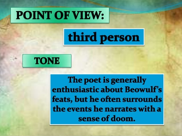 beowulf point of view