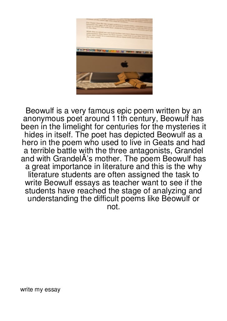 beowulf researching papers