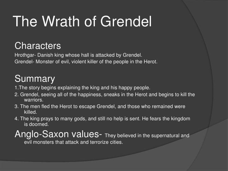 Summary and analysis of beowulf