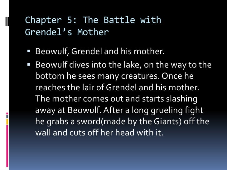 An analysis of how human grendel and his mother are in beowulf