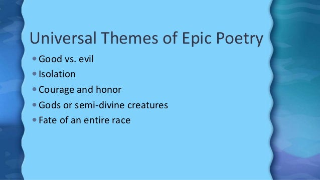 beowulf background and literary elements ppt