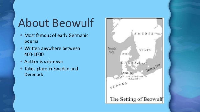 a literary analysis of the society in the epic poem beowulf Written between the 8th and 11th century, beowulf is the oldest known poem a literary analysis of the epic poem beowulf written in old english 22-8-2015.