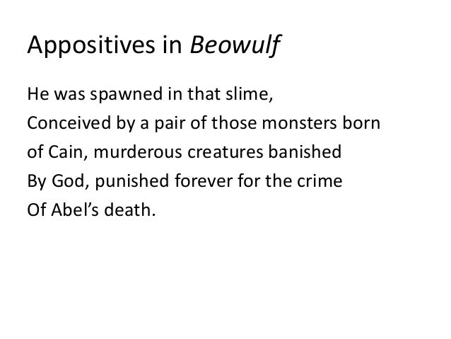 christian allusions in beowulf