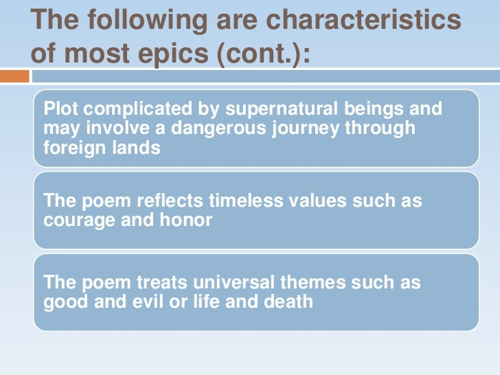 identify a universal theme in beowulf