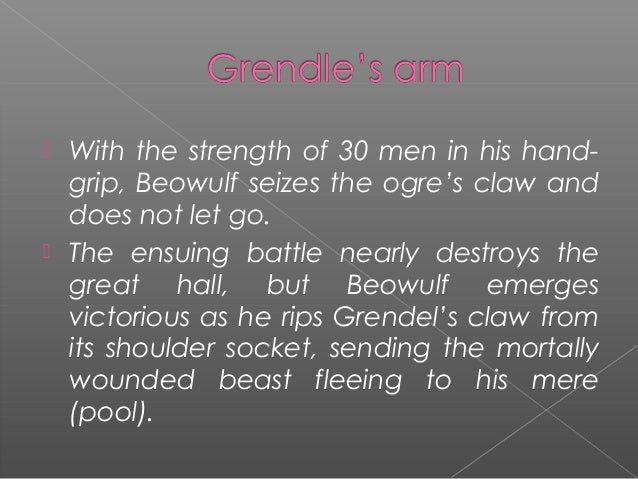 how does beowulf show strength