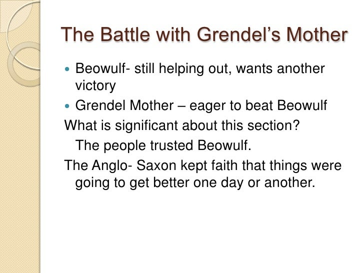 Grendel's mother summary