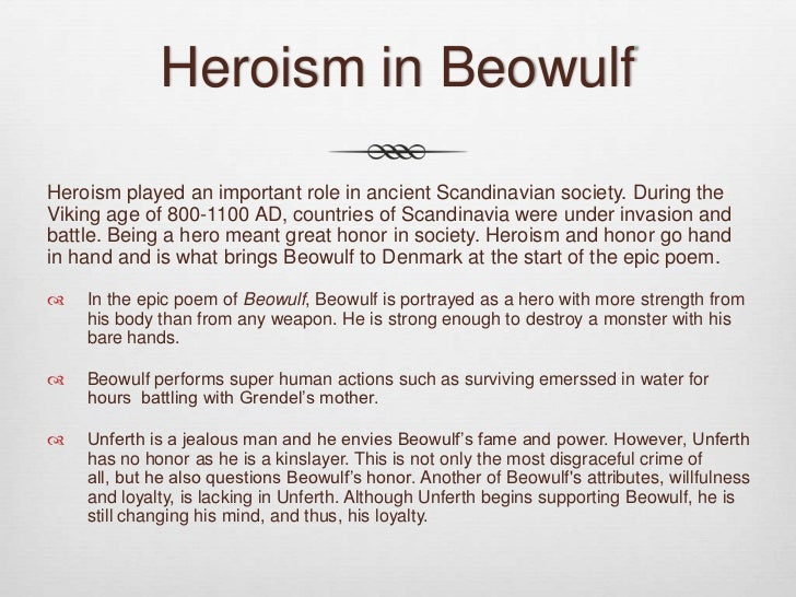 beowulf the perfect hero english literature essay Beowulf is the greatest surviving old english poem, an epic that recounts the main events in the life of a legendary hero named beowulf beowulf's destiny is to fight and conquer the monsters that terrorize the kingdom of the danes.