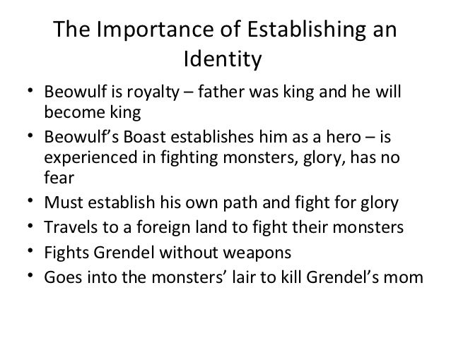 your own description of beowulf