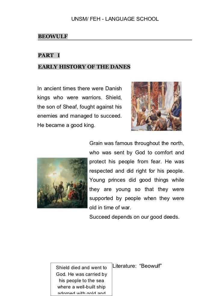 beuwolf summary Unknown's beowulf plot summary learn more about beowulf with a detailed plot summary and plot diagram.
