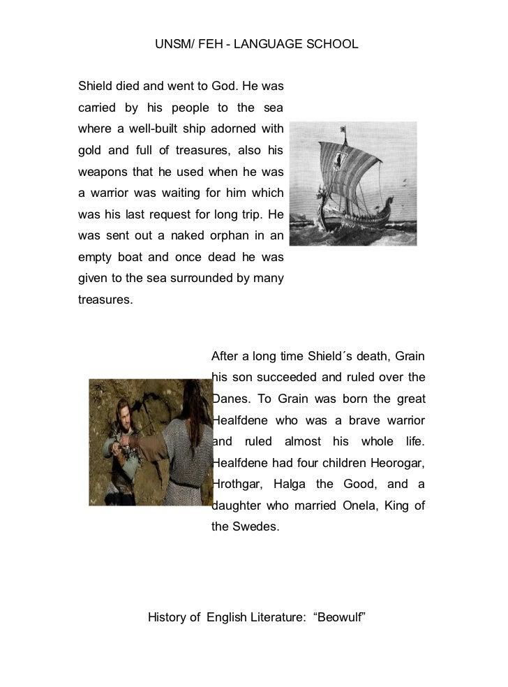 the last battle beowulf summary