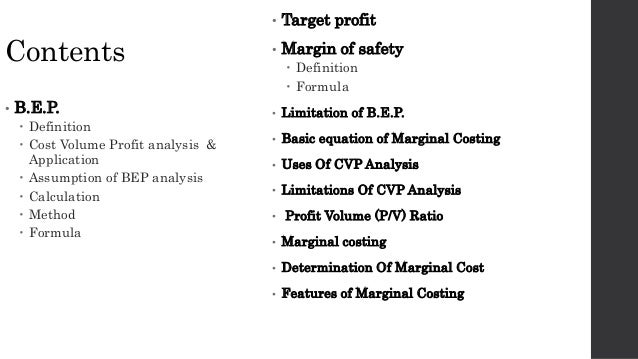 in break even analysis the contribution margin is defined as In the linear cost-volume-profit analysis model, contribution margin is a as contribution margin ratio the break-even point, operating margin.