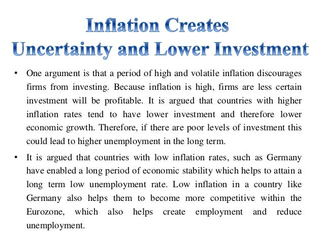 Buy essay on inflation effects