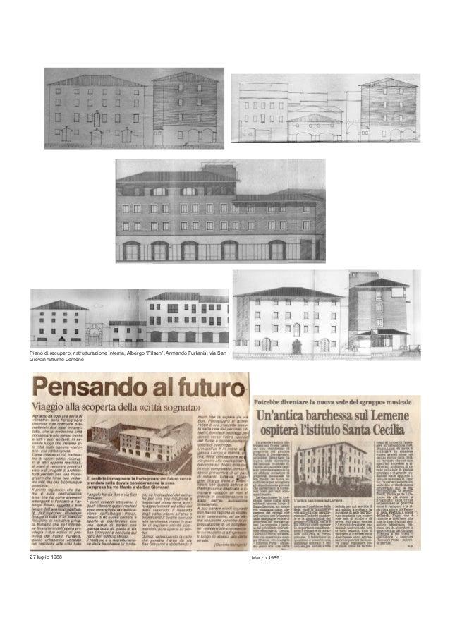 DAL DOPOGUERRA ALLO SVILUPPO DEL VENETO ORIENTALE: PROGETTI DI EDILIZIA CIVILE (1950-1980) DELL'ING GIUSEPPE SCARPA Slide 2