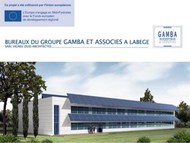 Et pourquoi (pas) un BEPOS(AC) ? Bâtiment 6NERGY+ Siège du Groupe GAMBA