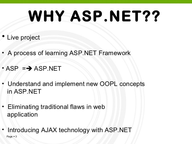 Module 4: introduction to asp. Net 3. 5 (powerpoint slides).