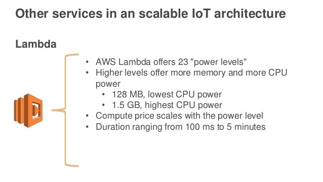 AWS re:Invent 2016: Building IoT Applications with AWS and ...