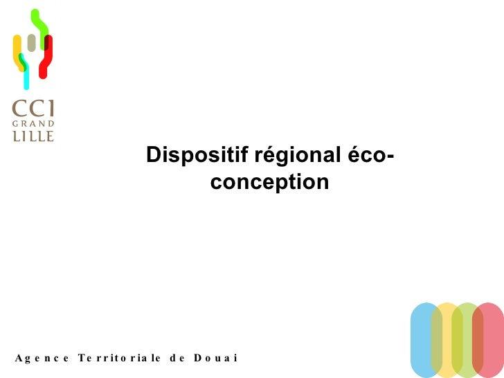 Dispositif régional éco-conception