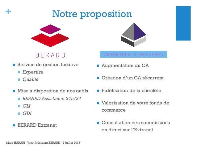 +  Notre proposition  APPORTEUR D'AFFAIRES   Service de gestion locative  Expertise     Qualité  Mise à dispositio...