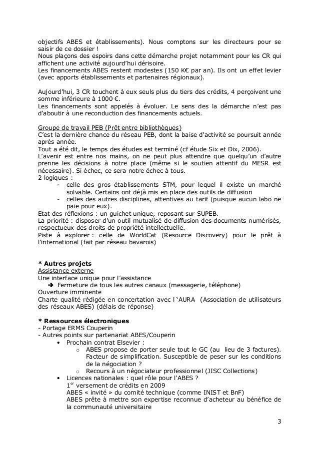 """Jabes 2010 - Session plénière """" Bilan et projets de l'Abes"""" Slide 3"""