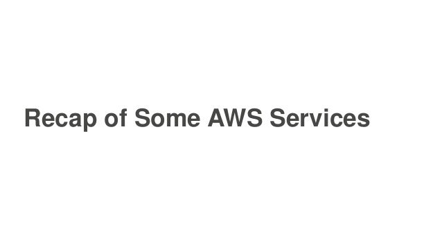 AWS re:Invent 2016: JustGiving: Serverless Data Pipelines, Event-Driven ETL, and Stream Processing (BDM303) Slide 3
