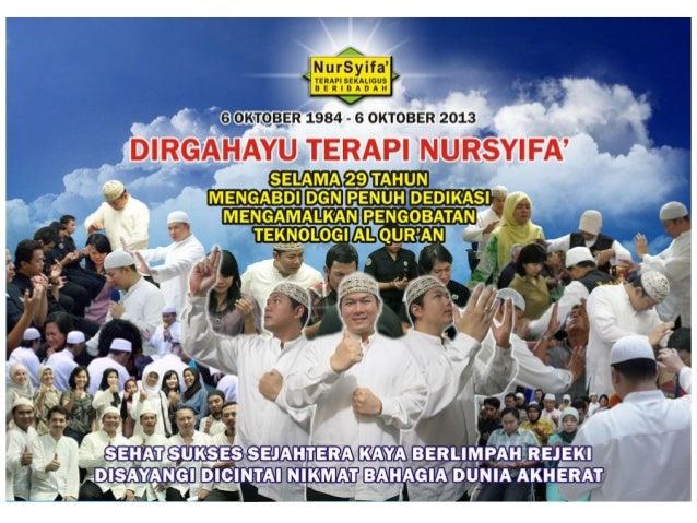Terapi NurSyifa' Jln. Kalipasir Tembok no. 26 Menteng Raya Jakarta Pusat 10340 Telpon : (62 21) 3147850 Handphone : 085612...