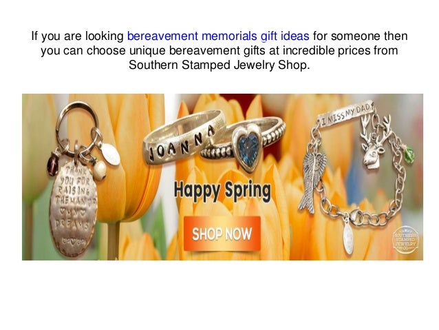 ... Necklace; 8. If you are looking bereavement memorials gift ideas ...