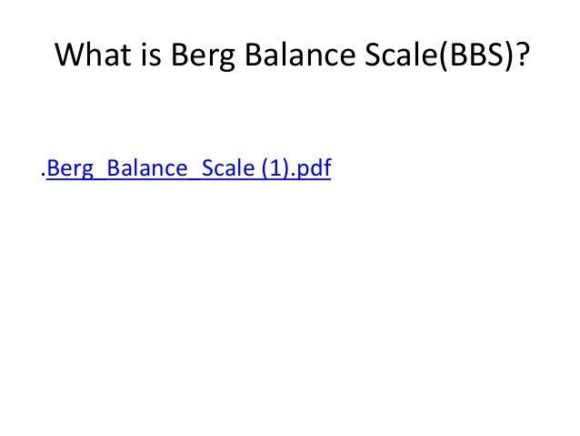modified berg balance scale pdf
