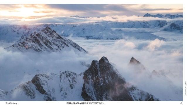 Berge, Menschen, Kulinarik… Instagram am Beispiel von Tirol #AFBMC Slide 2