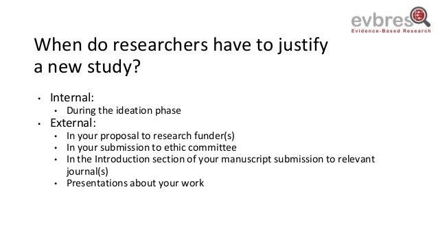Klara Brunnhuber: Research Waste when Justifying New Research Slide 2