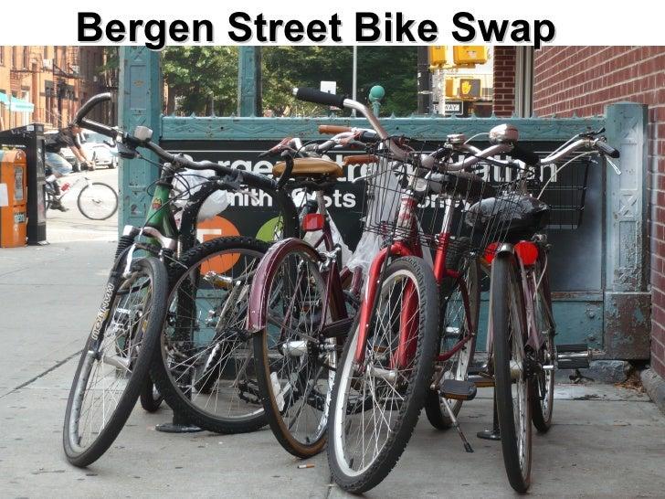 Bergen Street Bike Swap