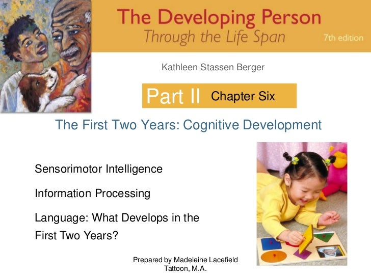 Prepared by Madeleine Lacefield Tattoon, M.A.<br />1<br />Part II<br />Chapter Six<br />The First Two Years: Cognitive Dev...