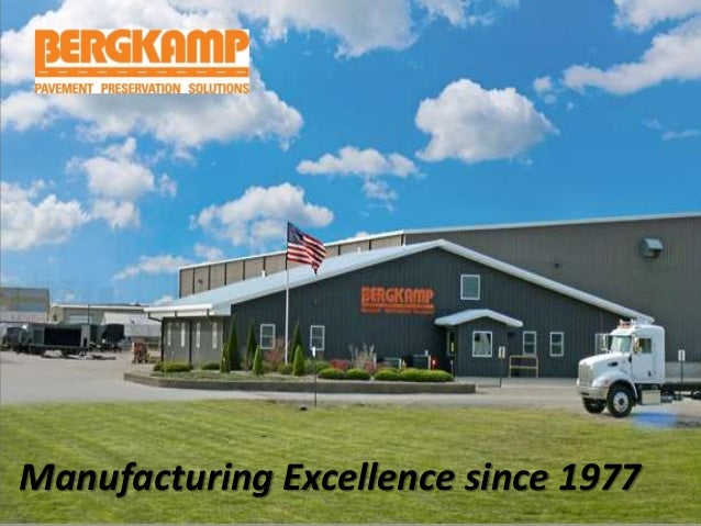 Manufacturing Excellence since 1977