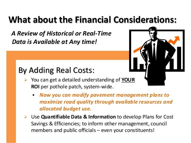 What about the Financial Considerations: A Review of Historical or Real-Time Data is Available at Any time! By Adding Real...