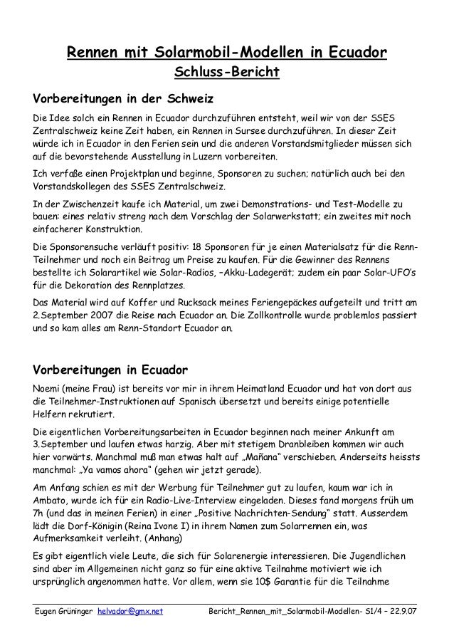 Eugen Grüninger helvador@gmx.net Bericht_Rennen_mit_Solarmobil-Modellen- S1/4 – 22.9.07Rennen mit Solarmobil-Modellen in E...
