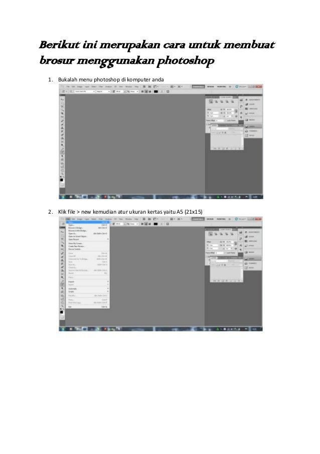 Cara Membuat Brosur dengan Photoshop, Cocok Bagi Pemula ...