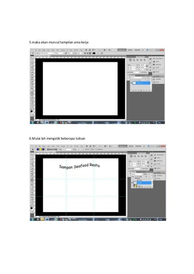 Cara Membuat Desain Pamflet dengan Photoshop Cepat, Mudah ...