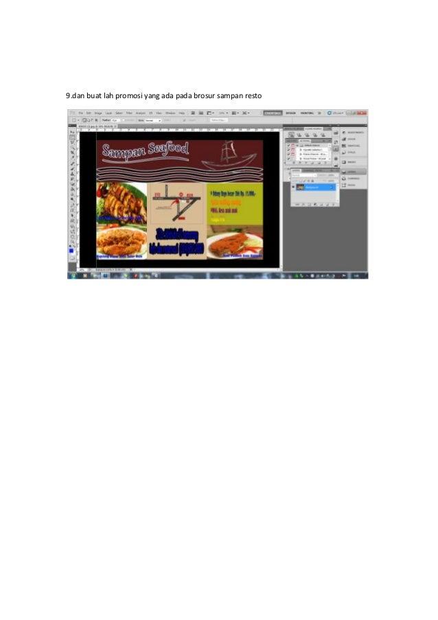 Tutorial Cara Mendesain Brosur Menggunakan Adobe Photoshop ...