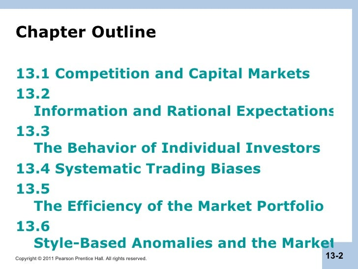 capital market efficiency We document that chief executive officer (ceo) incentive compensation plays an important role in determining internal capital market (icm) allocation efficiency.