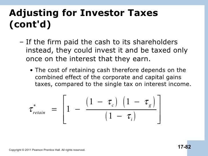 chapter 17 payout policy Chapter 2 – answers to  net profit margin declined in 2003 by 11% (from 20% to 178%),  dividend payout ratio = dividends divided by net income.