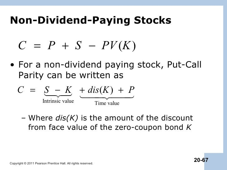 Valuing options on dividend paying stocks