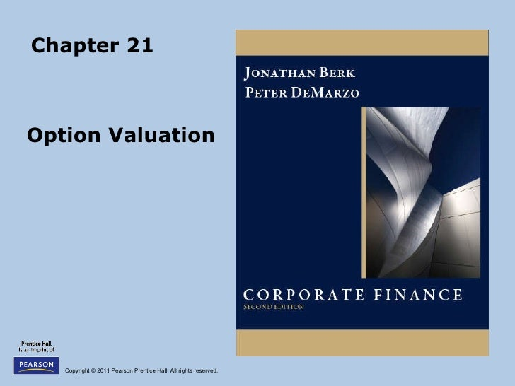 Chapter 21 Option Valuation