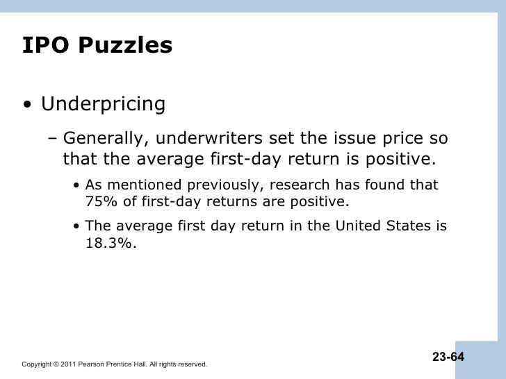 How do underwriters benefit from underpricing ipo