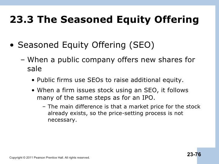 seasoned equity offerings quality of accounting Electronic copy available at: seasoned equity offerings: quality of accounting information and expected flotation costs.