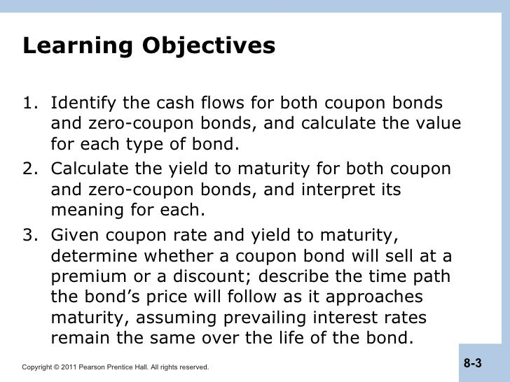 berk chapter 8 valuing bonds