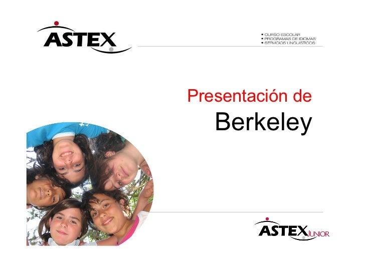 Presentación de   Berkeley