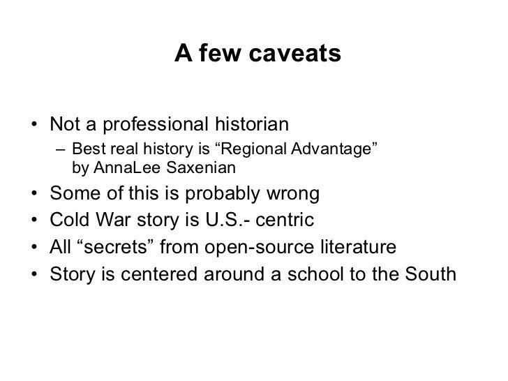Secret History: Why Stanford and Not Berkeley? Slide 2